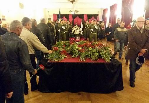 Прощание с Юрием Шагиновым в Сергиево-Посадском районе