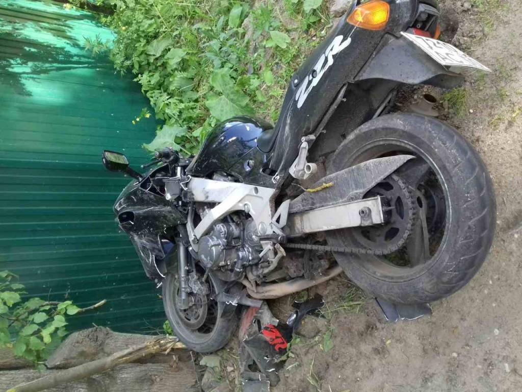 На фото Три пострадавших мотоциклиста за неделю изображение