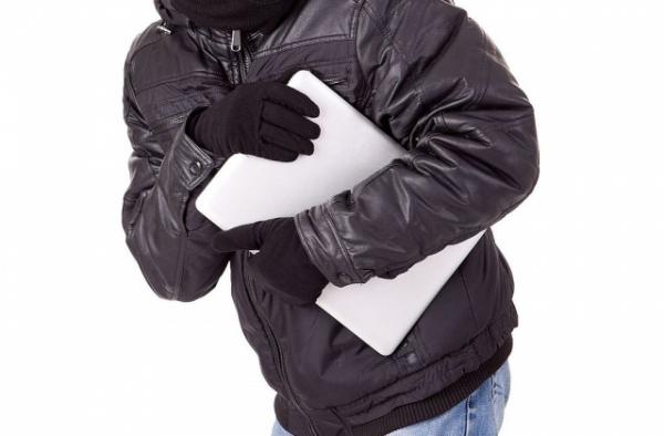 На фото Полицейские раскрыли кражу ноутбука изображение