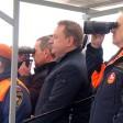 За учениями пожарных наблюдали сквозь бинокли «Швабе»