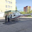 Вертолёт медицины катастроф забрал ребёнка из РБ