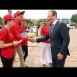 Волонтёры встречают болельщиков ЧМ-2018 в Сергиевом Посаде