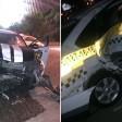 Жесткая авария с такси на Московском шоссе