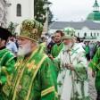 Патриарх Кирилл посетил Сергиев Посад