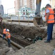 В субботу закончится ремонт трубопровода на Угличе