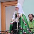 Патриарх Кирилл поздравил верующих с днем обретения мощей Сергия Радонежского