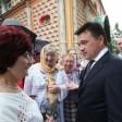«Для нас очень важно ваше мнение»: Андрей Воробьев встретился с жителями Сергиева Посада