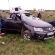 Авария-перевертыш с тремя пострадавшими