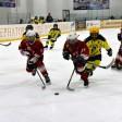 Юноши играют в первенстве Московской области по хоккею