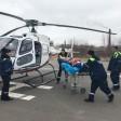 Вертолёт санавиации забрал ребёнка с 50% ожогов тела