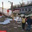 Поезд столкнулся с машиной в Рогачево