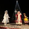 В Сергиевом Посаде зажгли огни на новогодней елке