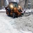 Уборка снега во дворе: попытка №4