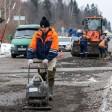 Переезд у деревни Рогачёво починили