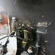 Взрыв газа привёл к пожару