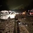 Четверо на такси пострадали в жестком ДТП