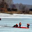 Выходить на лед опасно