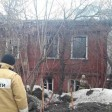 Загорелся дом на Кооперативной, где никто не живёт