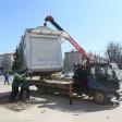 Незаконные торговые палатки начали демонтировать в Сергиевом Посаде