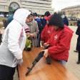 Акцию по сдаче ГТО провели на Советской площади