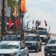Автопробег ко Дню Победы в Сергиевом Посаде