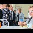 Михаил Токарев поговорил со школьниками о питании
