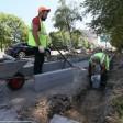 Ремонт тротуаров в Сергиевом Посаде продолжается. На очереди ул. Больничная