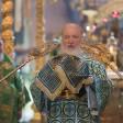 Патриарх Кирилл совершил Божественную литургию в Троице‑Сергиевой лавре
