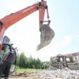 Недостроенную осетровую ферму в д. Дерюзино сносят