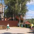 Пожар на Сергиевской в Сергиевом Посаде