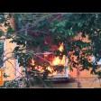 Загорелся балкон в доме на Инженерной