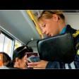 Проверка в автобусах: «зайцев» нет