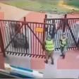 Квадроцикл сбил солдата на Вакцине