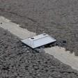 Катафоты устанавливают на дороге в Наугольном