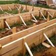 Фундамент коттеджа или загородного дома