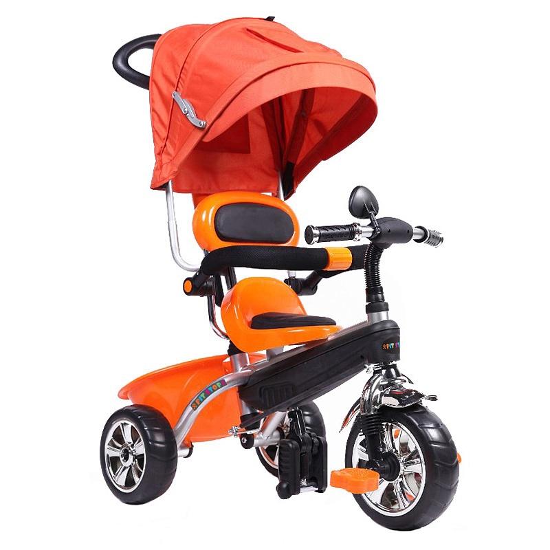 108107142-velosiped-detskii-trehkolesnii-maxi-toys-pitstop-s-tentom-oranzhevii
