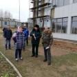 Ход строительства школы в Сергиевом Посаде проверил строительный инспектор Московской области