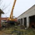 Вдоль Западного объезда в Сергиевом Посаде сносят гаражи