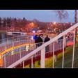 Благоустройство с видом на Келарский пруд и Лавру