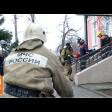Сотрудники соцзащиты потренировались эвакуироваться