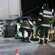 Жесткая авария с фурой и пострадавшим