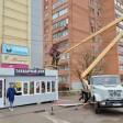 В Сергиево-Посадском городском округе демонтируют незаконные вывески