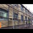 В Загорских Далях приводят в порядок фасады и крыльцо амбулатории