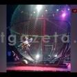 Видео, как циркач упал с мотоцикла в Посаде