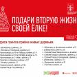 В Сергиево-Посадском округе проходит экологическая акция «Подари своей елке вторую жизнь».