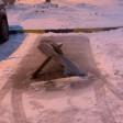 Противотанковым ежом забронировал себе парковку житель Сергиева Посада