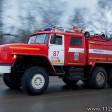 Крупный пожар в Скоропусковском