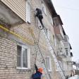 Монтаж фасадных газопроводов проводится в жилых домах п. Заречный