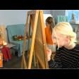 «Весенняя палитра»: юные творцы экспонируют свои работы в залах Союза художников