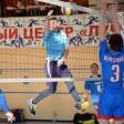 В праздничные выходные соревновались волейболисты